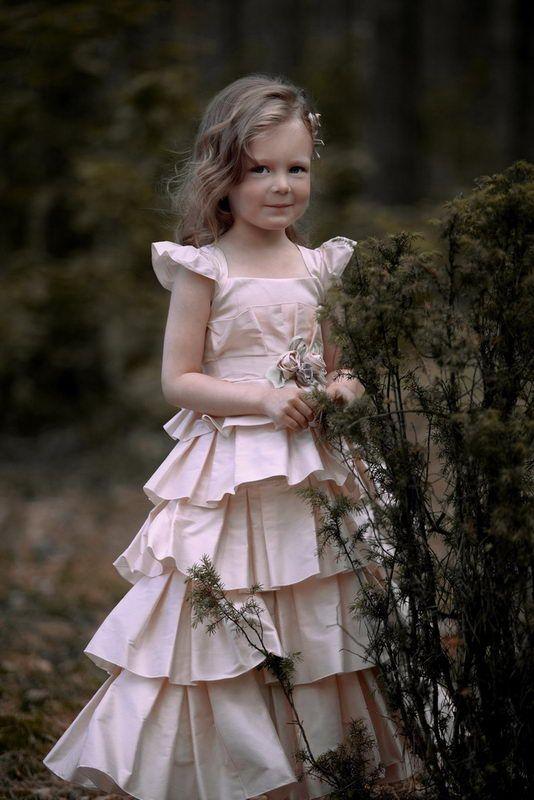 Chic Flower Girl Dresses For The Little Femme Fatales OneWed