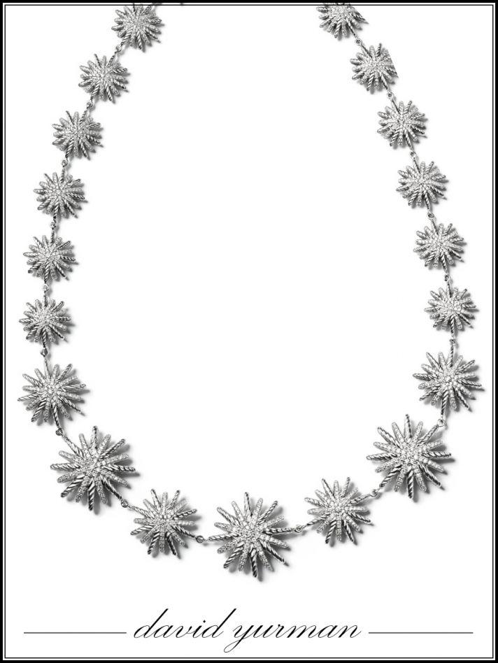 Statement bridal necklace by David Yurman