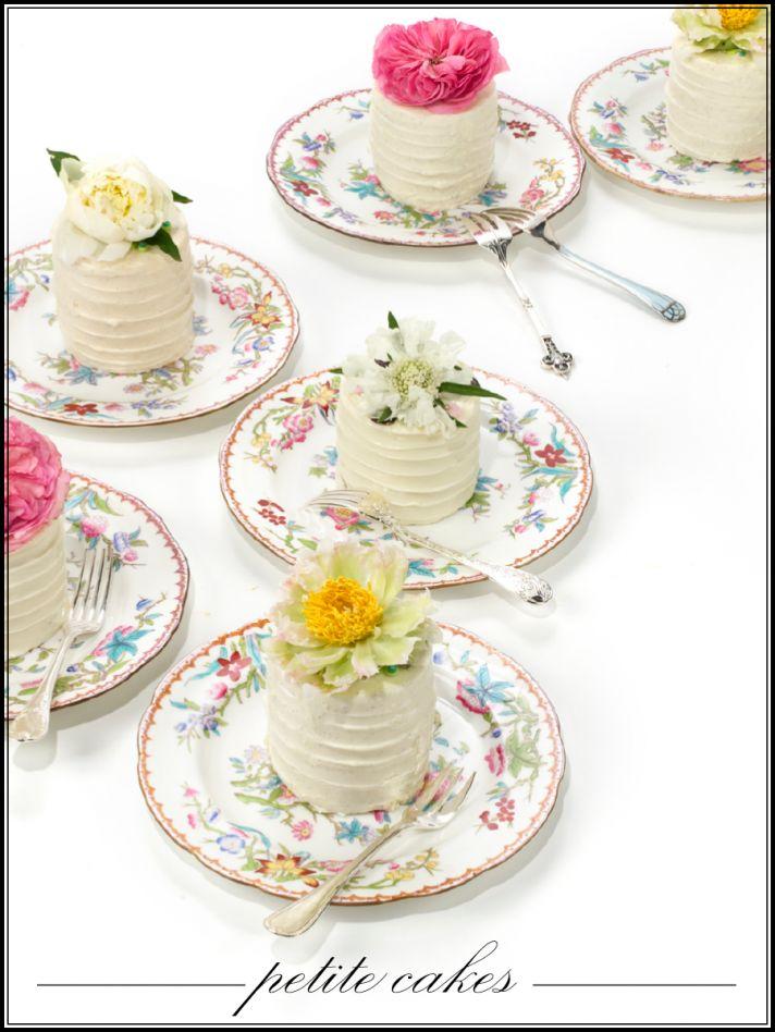 Vintage chic wedding reception desserts
