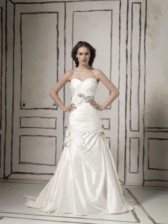 Romantic a-line wedding dress