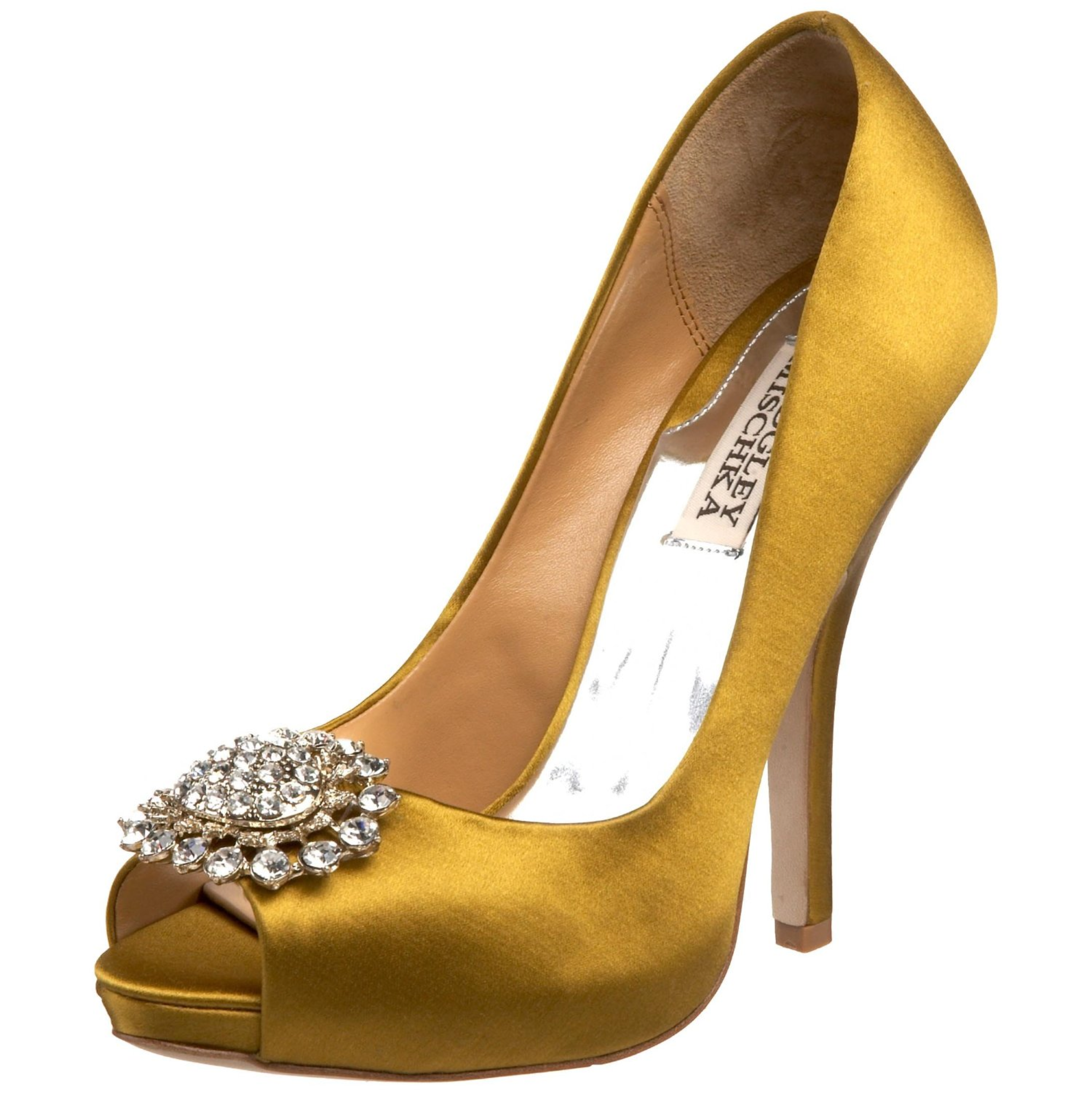 Gold Shoes For Wedding