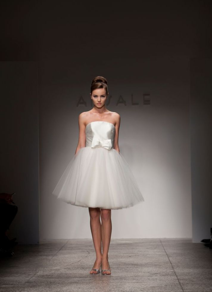 The little white dress phenomenon onewed for White dress for wedding reception
