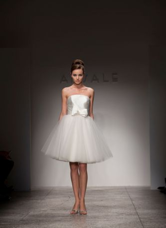 put The Little White Dress on the wedding fashion map How about Amsale
