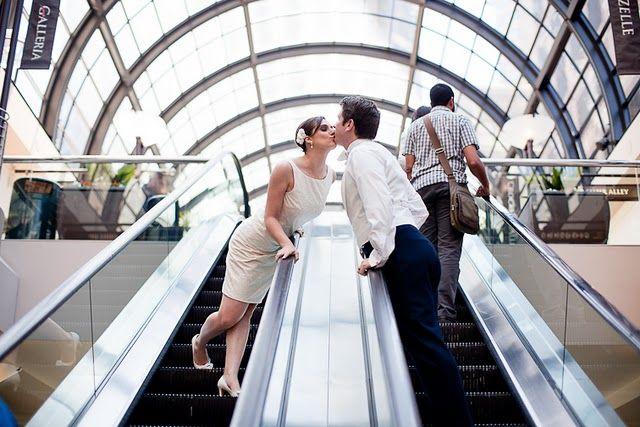 Chic ivory little white wedding dress