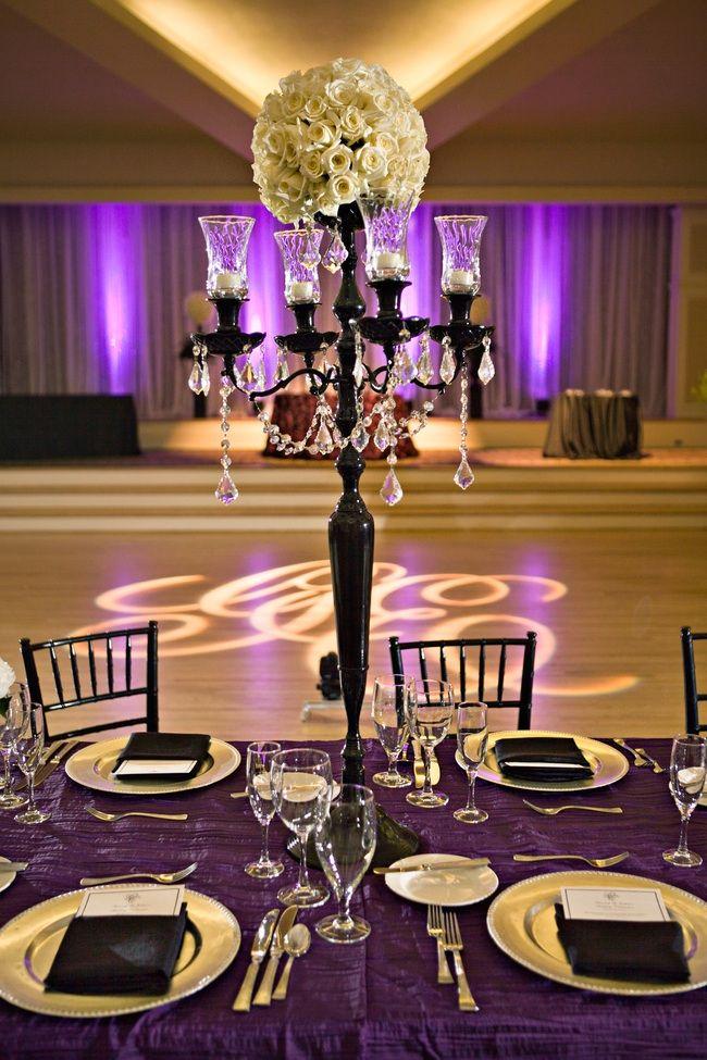 Elegant Wedding Reception Centerpieces Wedding Ideas