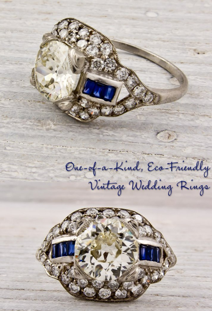 rare finds vintage engagement rings and wedding bands