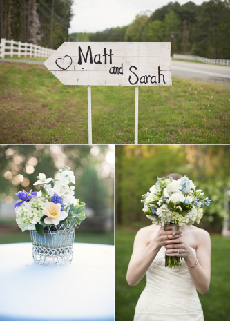 Country chic real wedding by Brett Arthur Weddings Sarah and Matt 39s lovely