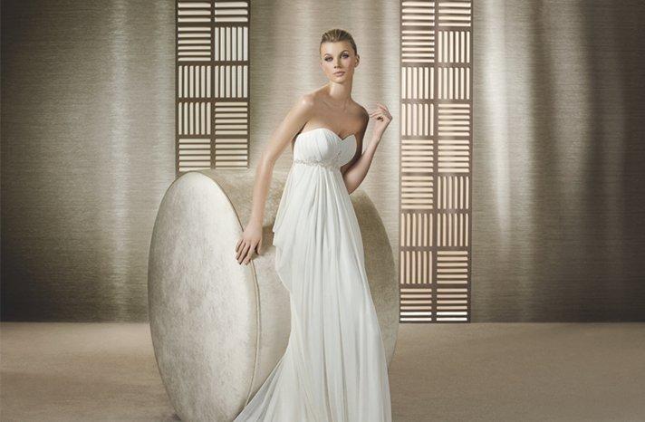Empire-wedding-dress