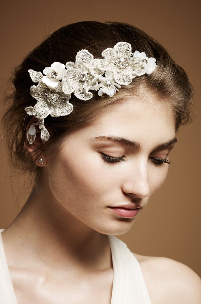 Heavenly wedding headdresses by jenny packham onewed