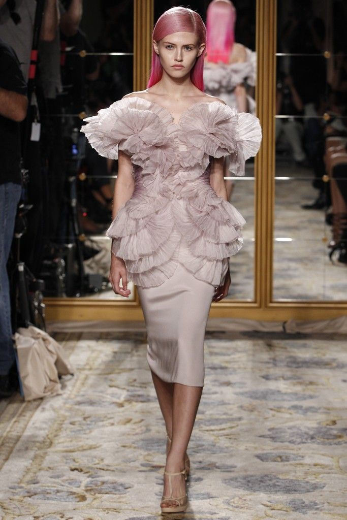 Texture-rich wedding reception dress by Marchesa