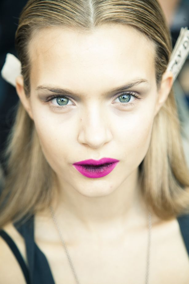 Bridal Beauty Inspiration- Dramatic Fashion Week Faces ...