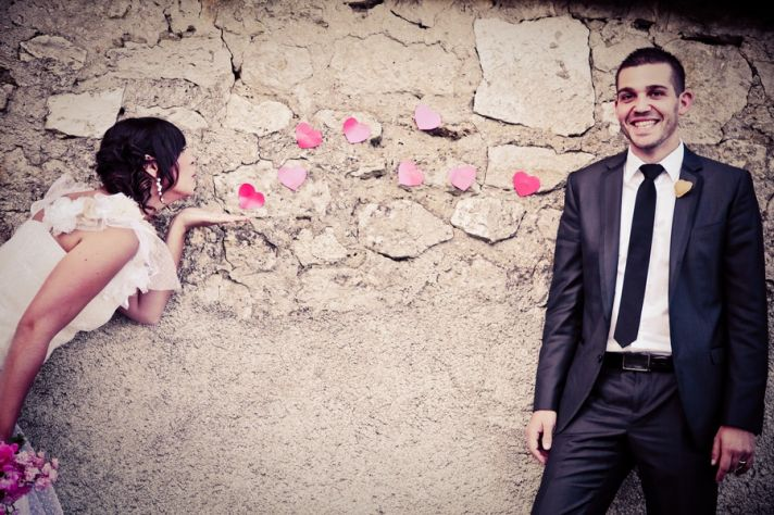 French boheme real wedding
