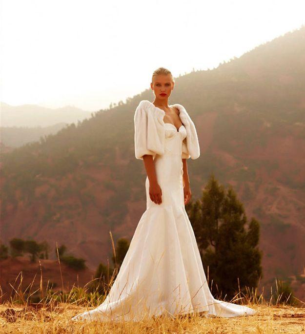 mermaid wedding dresses with 3/4 sleevesStar worthy wedding dresses by Amanda Wakeley Sposa OneWed tba6X0uo