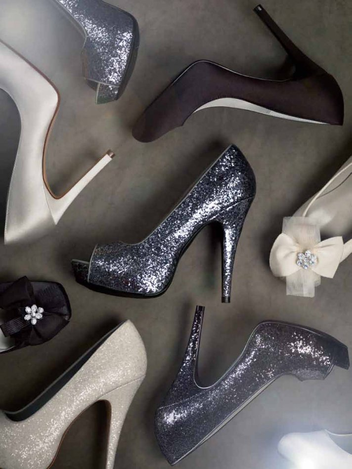 platform shoes by White by Vera Wang