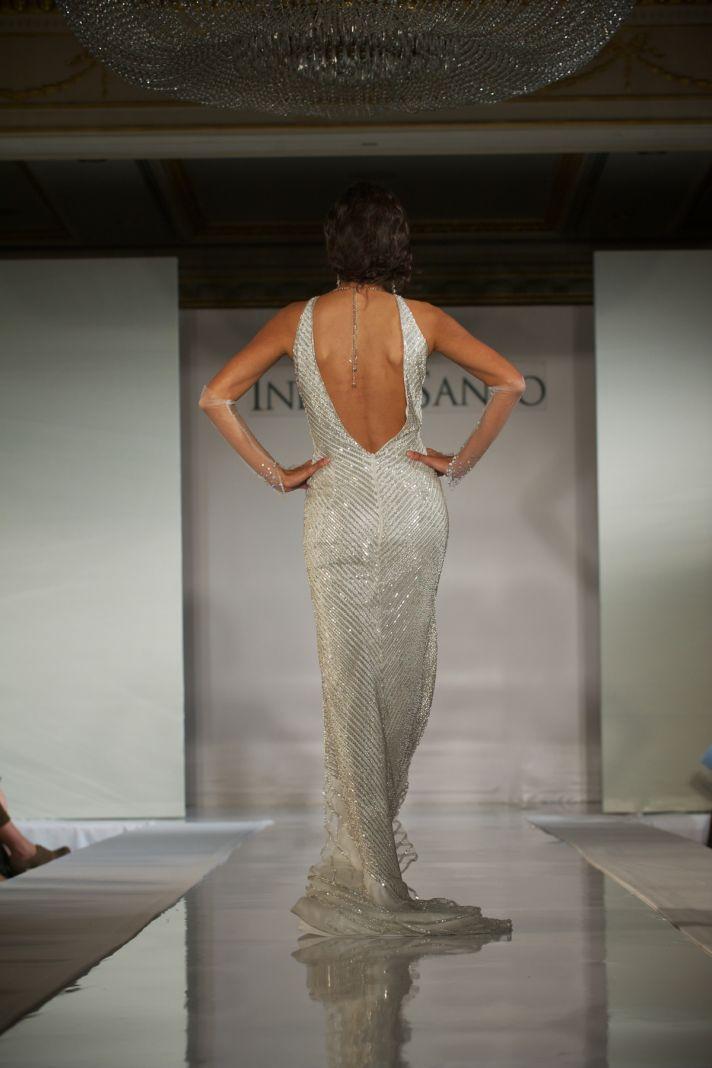 2012 wedding dress trends- deep v backs, Ines di Santo