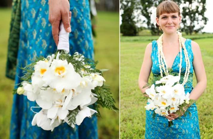 White-yellow-orchid-bridal-bouquet