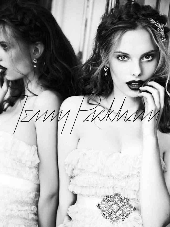 Jenny Packham wedding dress, 2012 bridal gowns, vintage-inpired bride