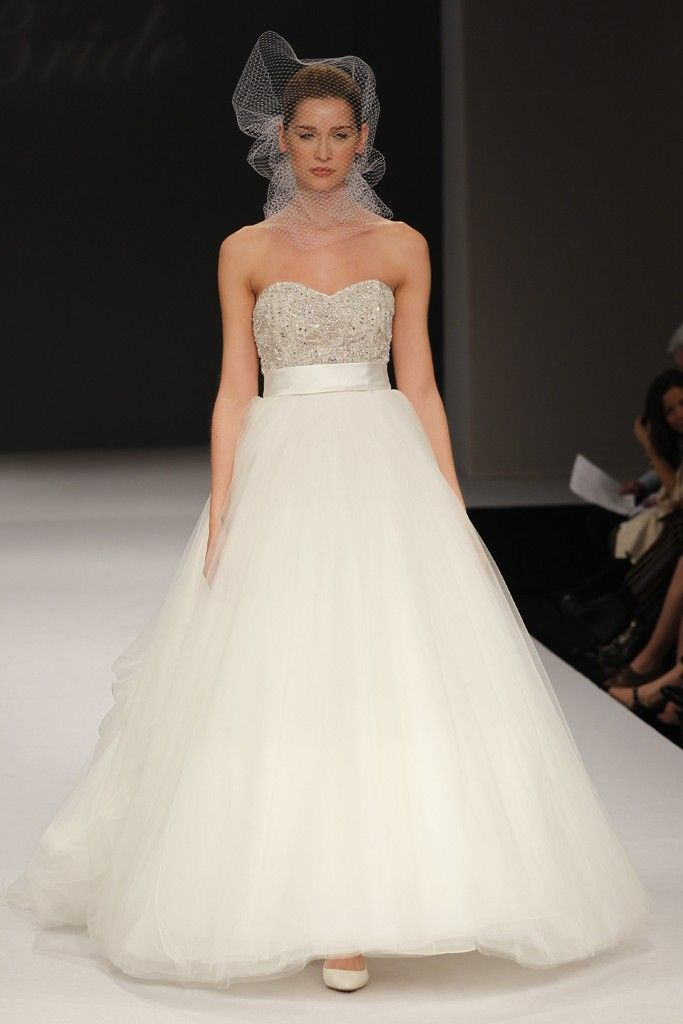 Badgley Mischka wedding dresses, Spring 2012 bridal gown- classic tulle ballgown