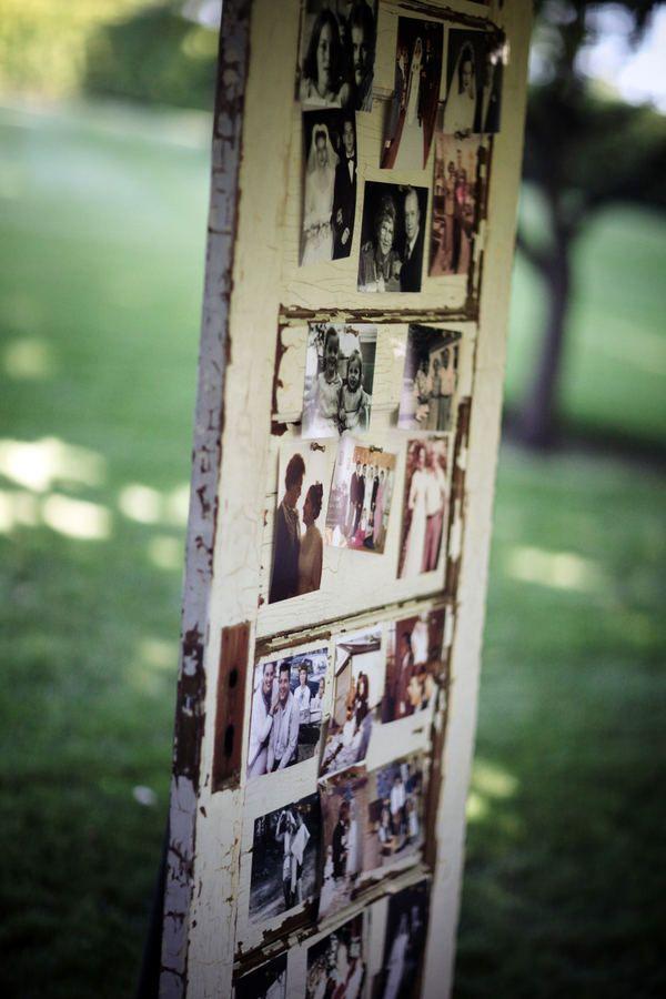 Vintage wedding decor ideas- ceremony and reception details, vintage wedding photos