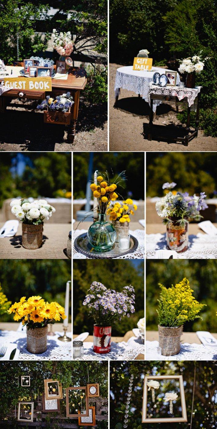 Real California weddings- vintage bride, barn wedding venue by Matthew Morgan Photography- 6