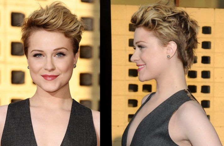 Short-wedding-hairstyles-evan-rachel-wood-elle