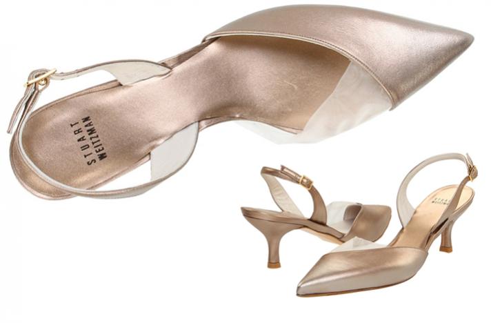 stuart weitzman wedding shoes sheer touches