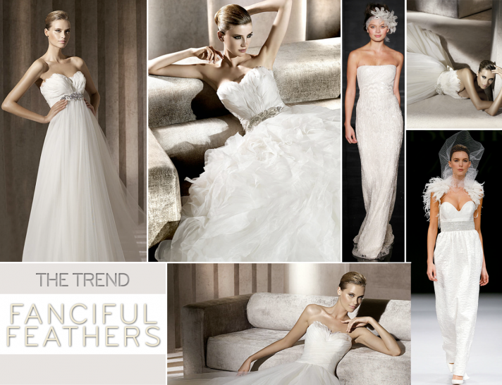 Bridal gowns by Lazaro