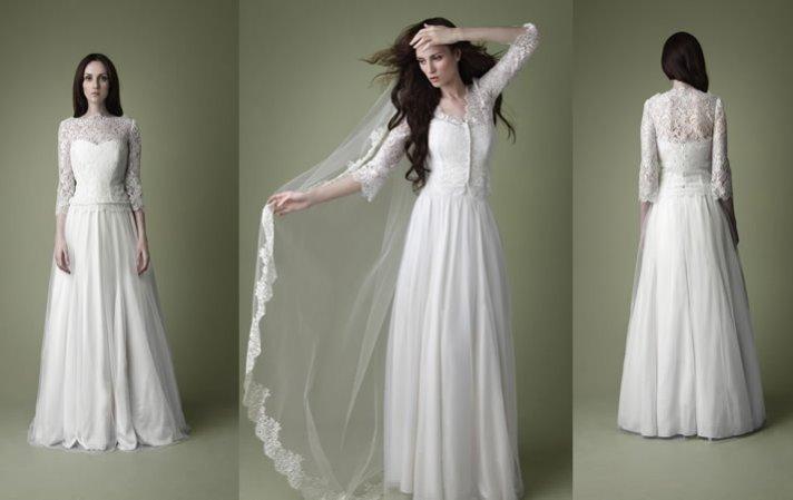 Delicious Decade-Inspired Wedding Dresses