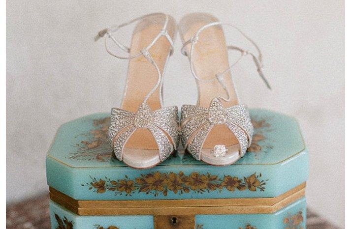 gsilver retro wedding heels