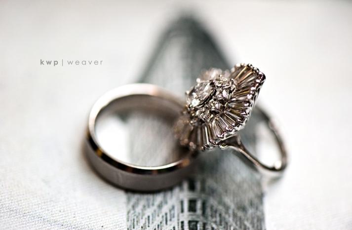 vintage wedding photography orlando photographers engagement ring wedding band