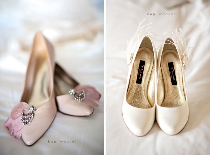 vintage wedding style wedding photography bridal heels