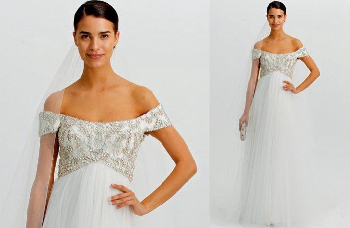 Marchesa-wedding-dress-2012-off-the-shoulder-cap-sleeves