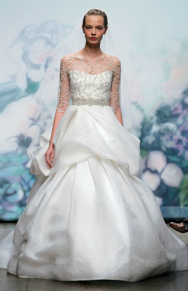 2012 wedding dress ballgown bridal gown monique lhuillier