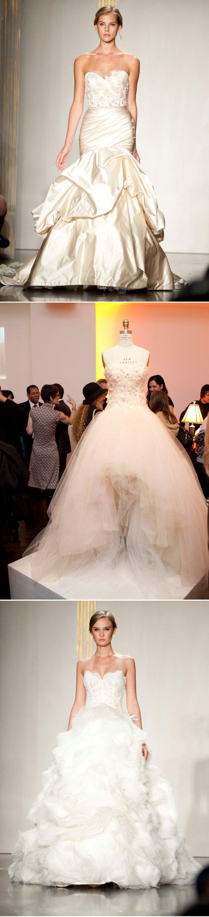 2012 wedding dresses bridal corset gown lazaro