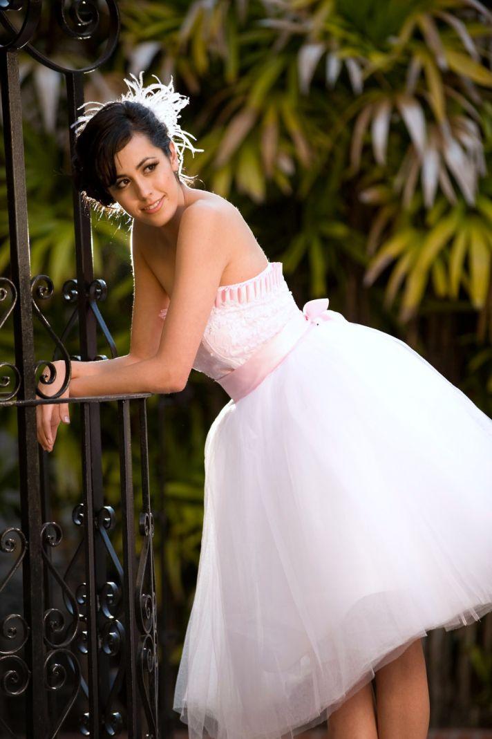 tea length wedding dress 2012 bridal trends