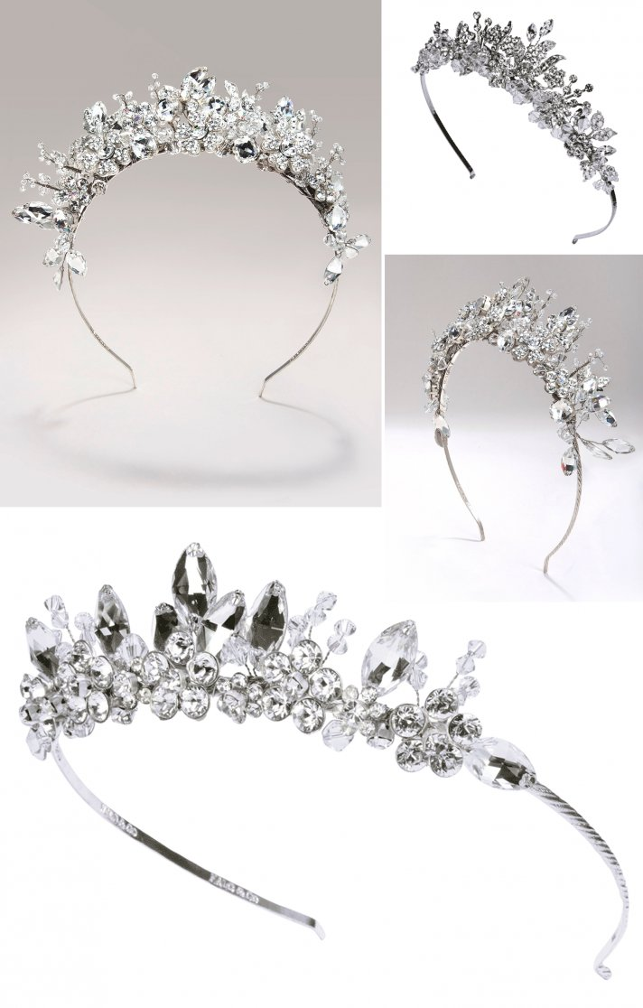 bridal tiaras 2012 wedding accessories trends halo and co