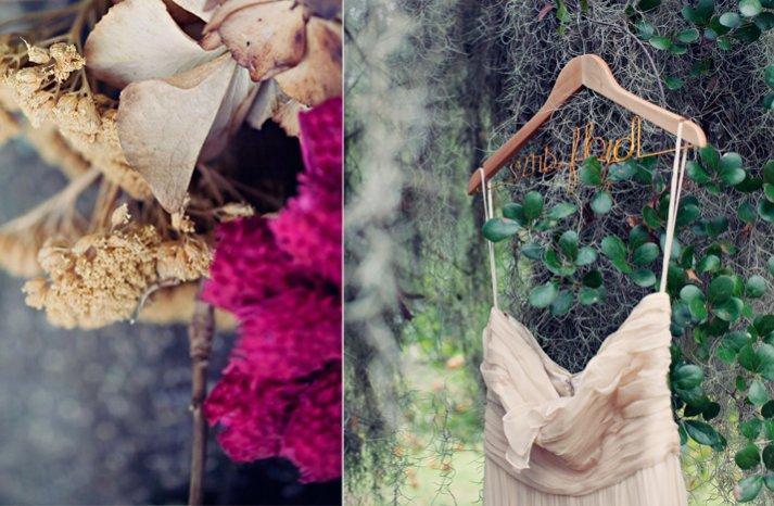 outdoor weddings bohemian bridal gown wedding flowers
