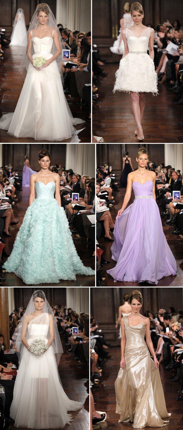 2012 wedding dresses romona keveza bridal gown trends