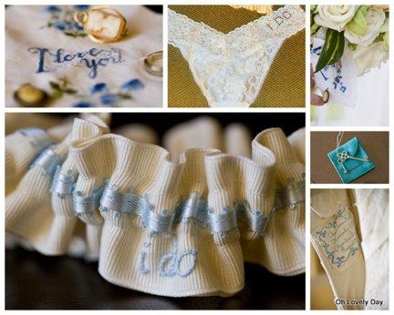 something blue wedding ideas bridal garter tiffany wedding jewelry