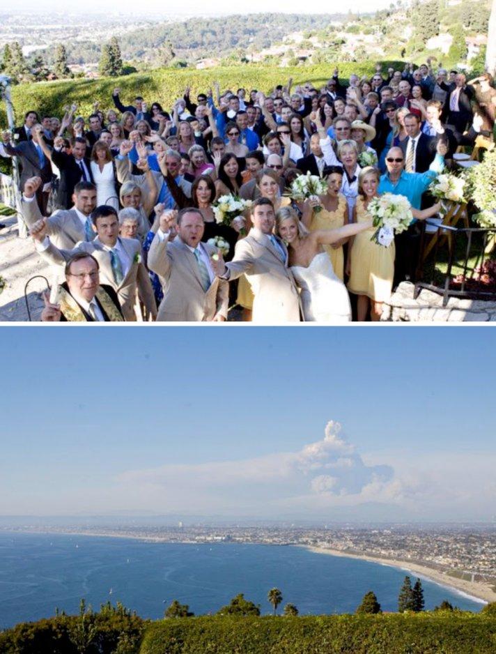 los angeles wedding on beach