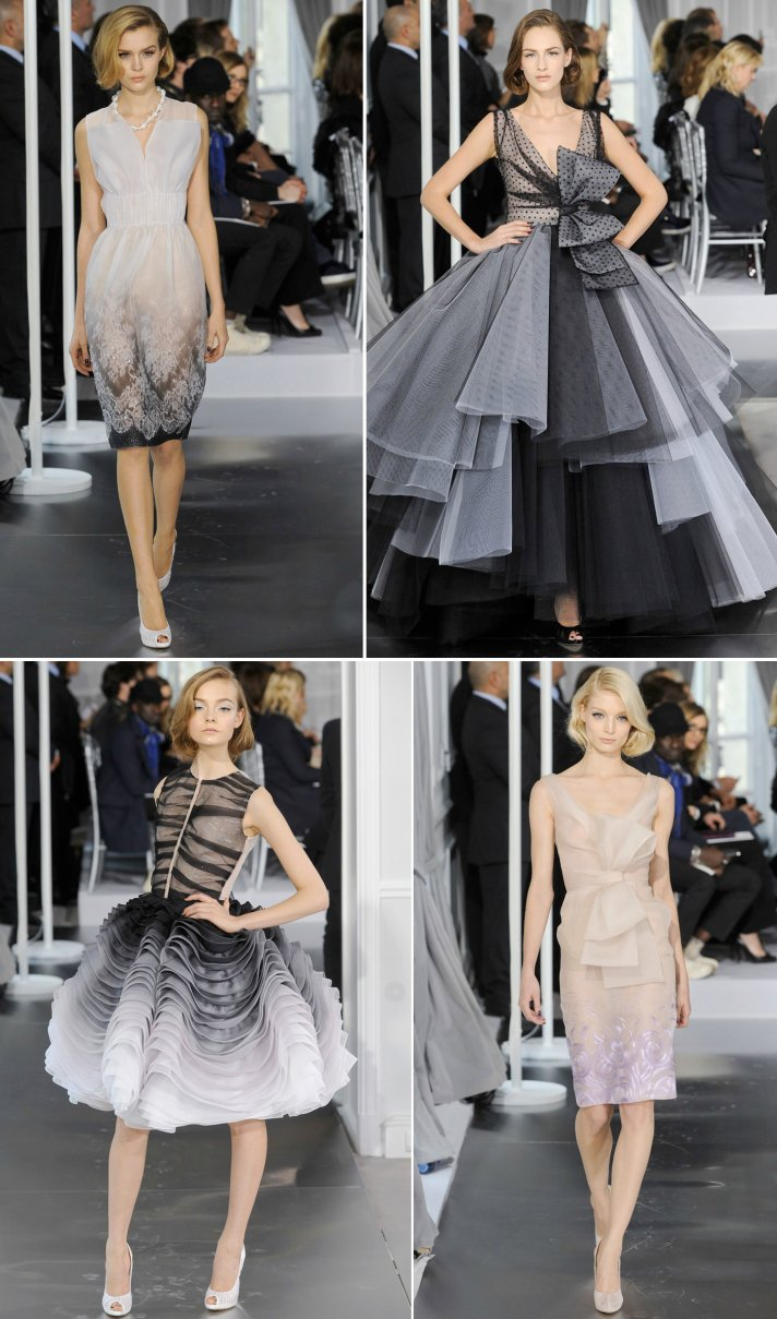 christian dior couture spring 2012 wedding dress ideas