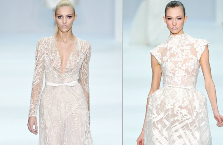 elie saab 2012 couture wedding dress ideas bridal gown trends 2