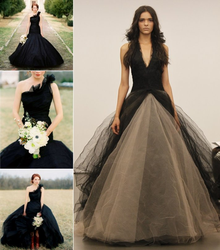 non white wedding dresses vera wang romona keveza