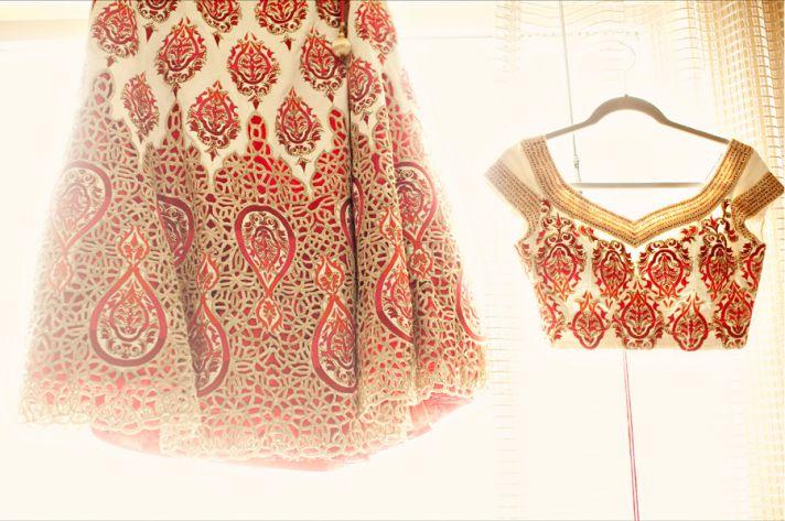 multi cultural weddings indian bride wedding sari attire