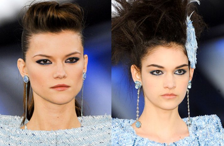 chanel couture 2012 bridal hair makeup ideas