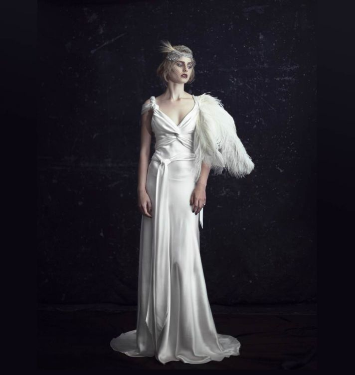 johanna johnson wedding dress 2012 luxor bridal gowns 1