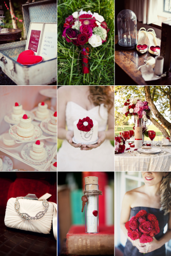 Sweet Valentine 39s Day Wedding Inspiration February 08th 2012 by Azure