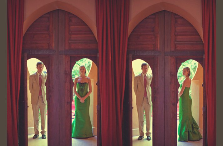 desert wedding offbeat wedding style casual elegant venue