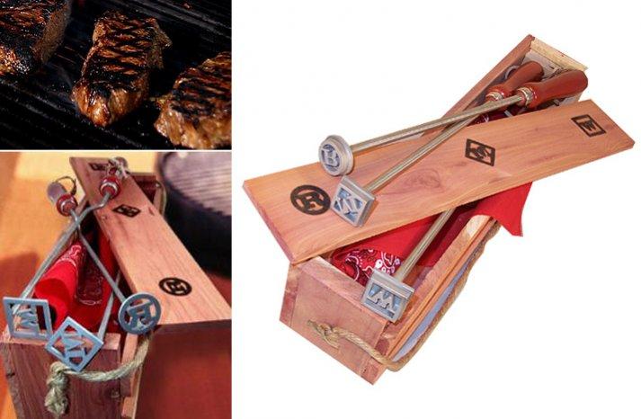 groomsmen gift ideas grill master tools