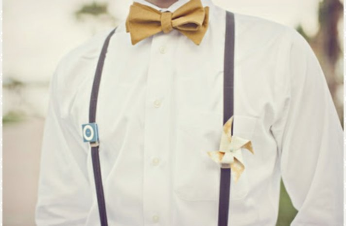quirky groom wedding style